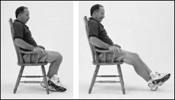 Knee Flexion: Seated Stretch, Rockville, Maryland